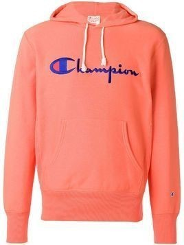 Champion embroidered logo hoodie - Pink & Purple