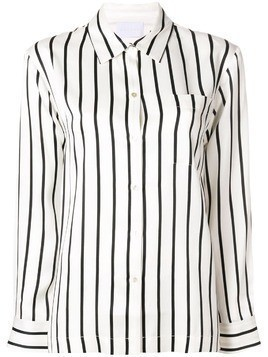 Asceno striped silk shirt - Neutrals