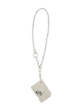 C2h4 chain cardholder - Grey