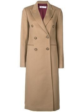 Victoria Beckham tailored double breasted coat - Neutrals