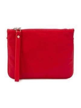 Gaelle Paris Kids logo chain pouch bag - Red