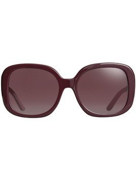 Burberry Square Frame Sunglasses - Red