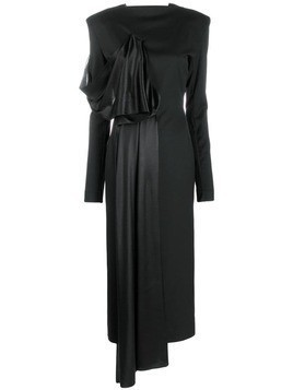 Litkovskaya draped detail dress - Black
