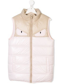 Fendi TEEN Bag Bugs gilet - Pink & Purple