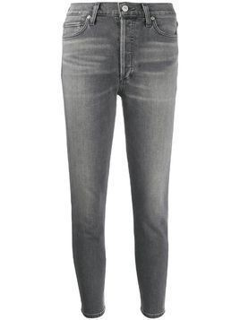 Citizens Of Humanity Olivia high-rise slim jeans - Grey