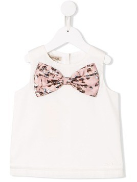Hucklebones London bow-detail tank top - White