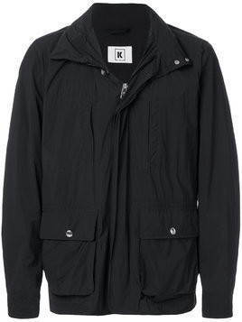 Kired zipped pocket jacket - Black