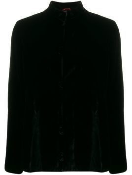 F.R.S For Restless Sleepers mandarin collar shirt - Black