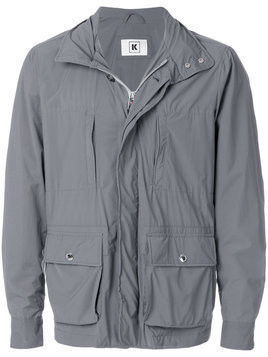 Kired casual zipped pocket jacket - Grey
