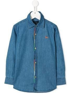 Harmont & Blaine Junior denim shirt - Blue