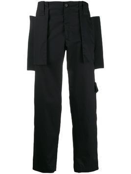 Craig Green flap-panel cargo trousers - Black