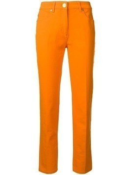 Escada mid-rise slim trousers - Orange
