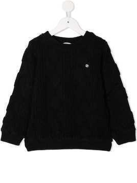 Fith cable knit sweater - Black