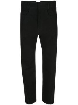 Haider Ackermann combination trousers - Black