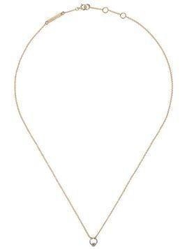 Delfina Delettrez 18kt white and yellow gold Two in One necklace - Yellow Gold/White Gold