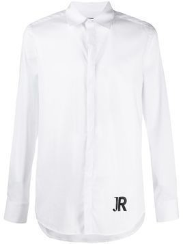 John Richmond Kassinga logo shirt - White