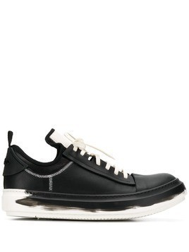 Artselab lace-up sneakers - Black