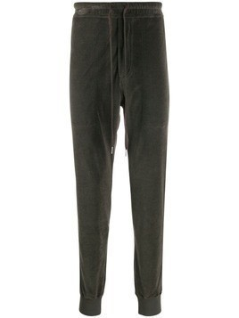 Tom Ford velvet sweatpants - Grey