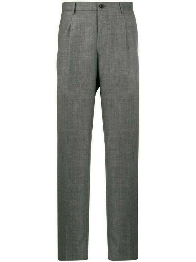 Etro straight leg trousers - Grey