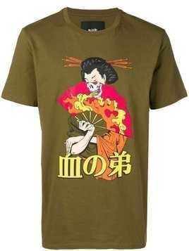 Blood Brother Geiko printed T-Shirt - Green