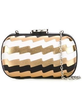 Corto Moltedo 'Susan C Star' pleated clutch - Multicolour