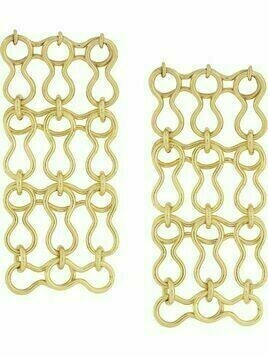 Ellery chain-link earrings - Gold