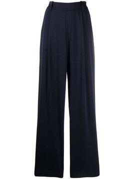 Vince wide-leg trousers - Blue