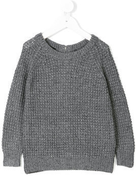 Little Remix chunky knit jumper - Grey