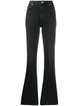 Citizens Of Humanity Georgia high-rise flared jeans - Black