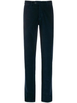 Canali corduroy trousers - Blue