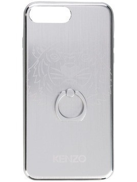 Kenzo Tiger etched iPhone 8 plus case - Grey
