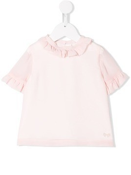Hucklebones London frill-trim blouse - Pink