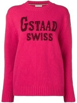 Moncler Gstaad Swiss sweater - Pink