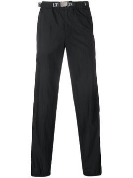 Valentino elasticated waist trousers - Black