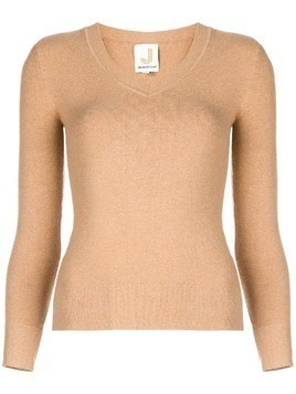 JoosTricot V-neck knit top - Brown