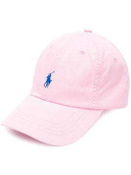 Polo Ralph Lauren - embroidered logo cap - Herren - Cotton - One Size - Pink & Purple