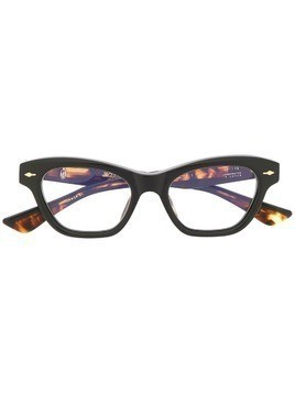 Jacques Marie Mage cat eye glasses - Black