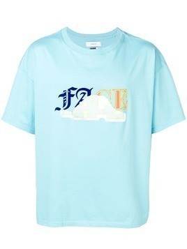 Facetasm graphic T-shirt - Blue