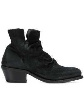 Fiorentini + Baker side zip ankle boots - Black