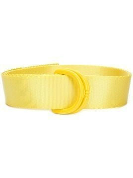 Y-3 adjustable buckle belt - Yellow & Orange
