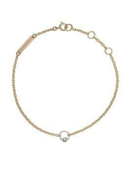 Delfina Delettrez 18kt yellow gold Two in One bracelet - Yellow Gold/White Gold