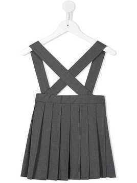 Bonpoint Favorite dungaree skirt - Grey