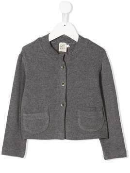 Caffe' D'orzo ribbed knit cardigan - Grey