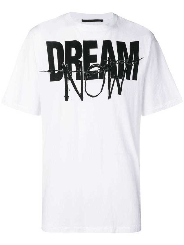 Haider Ackermann 'Dream Now' T-shirt - White