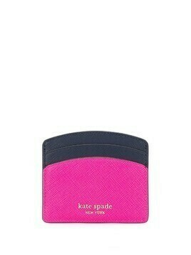 Kate Spade Spencer colour-block cardholder - PINK