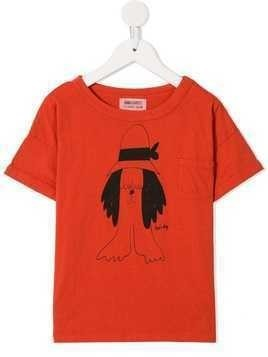 Bobo Choses Paul's printed T-shirt - Orange