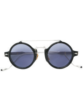 Jacques Marie Mage Eluard round frame sunglasses - Blue