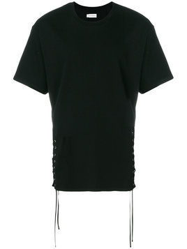 Faith Connexion side-tied T-shirt - Black