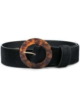 Lizzie Fortunato Jewels tortoiseshell buckled belt - Black