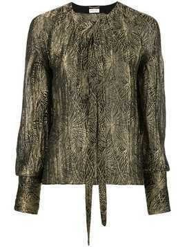 Saint Laurent metallic top